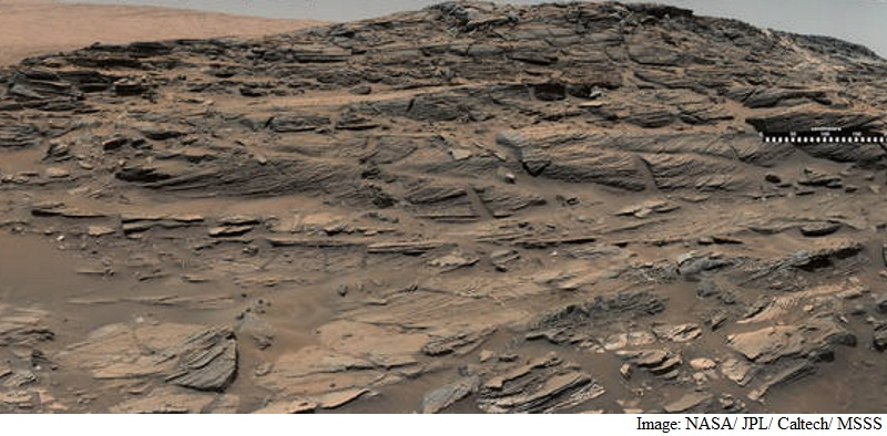 Nasa's Curiosity Rover Captures Petrified Sand Dunes on Mars