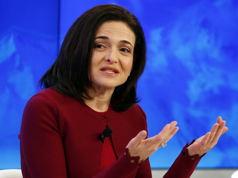Facebook's Sandberg Speaks About Husband's Death, 'Brutality of Loss'
