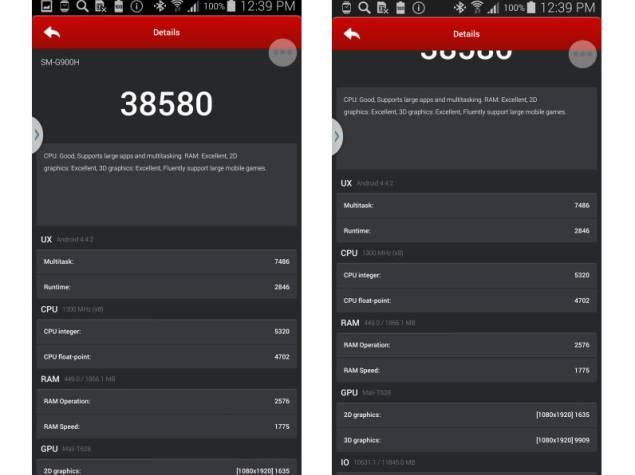 Samsung Galaxy S5 octa-core beats Snapdragon variant in AnTuTu: Report