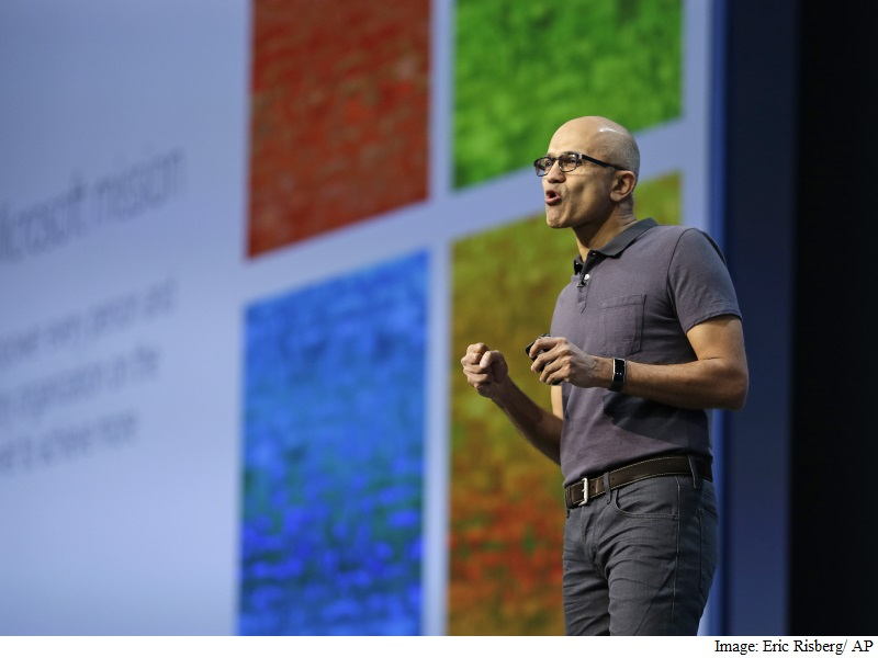 Microsoft CEO Satya Nadella Stays Committed to Bots After Tay Debacle