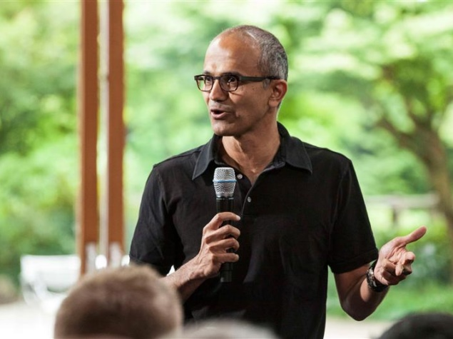 In India, would-be Microsoft CEO Satya Nadella showed inquisitive streak