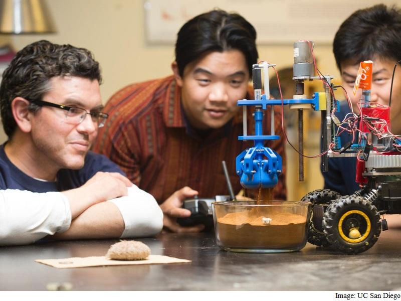 Sea Urchin-Inspired Crawler Developed for Mars Exploration