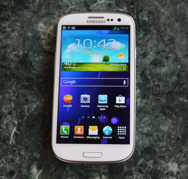 Samsung Galaxy S III running Android 4.3 build spotted online