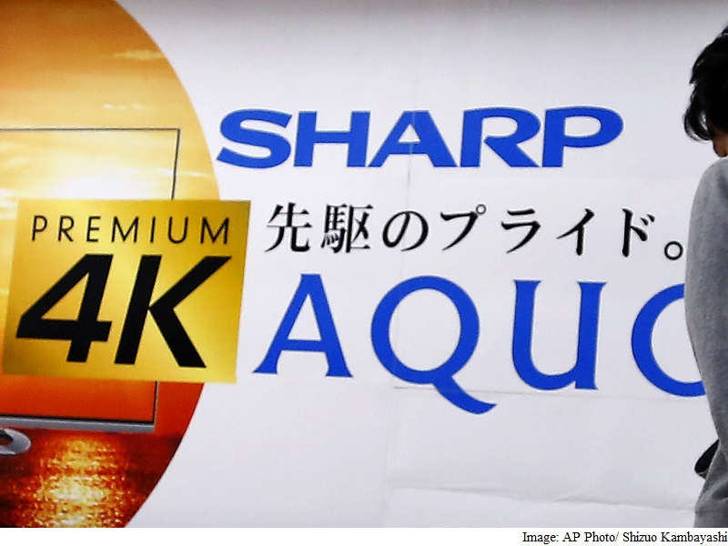 Sharp Accepts Takeover, Foxconn Not Ready to Sign