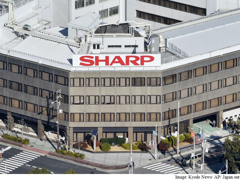 Sharp Accepts Bailout From Foxconn Parent: Reports
