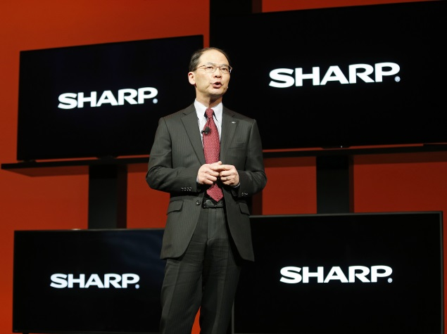 Sharp Issues Profit Warning as Competition Bites