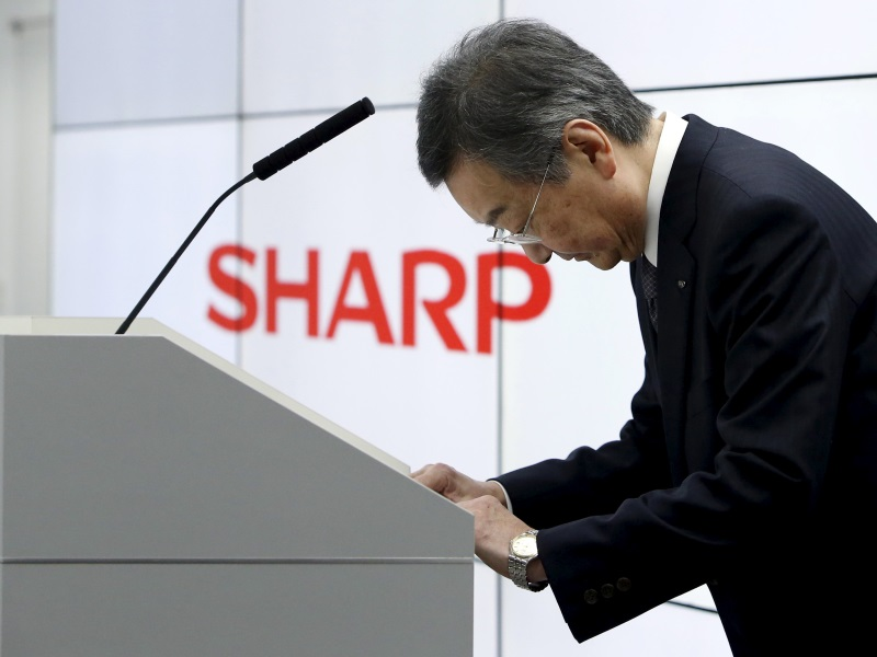 Foxconn CEO Says Agreed With Sharp on Most Points of a Takeover Deal