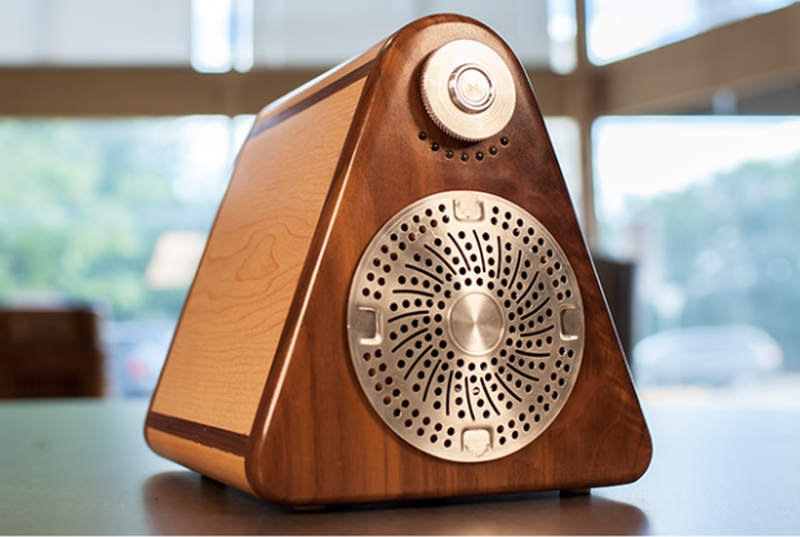 The Site: 1 Is a Handmade Bluetooth Speaker for Audiophiles