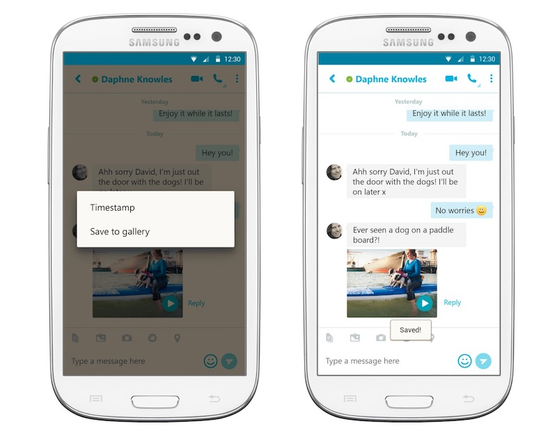 Skype for Android Now Lets You Save Video Messages, Mute Notifications