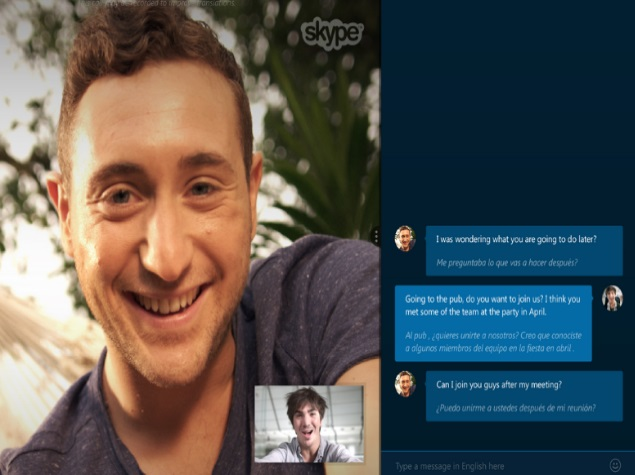 Microsoft's Skype Translator Preview Available for Windows