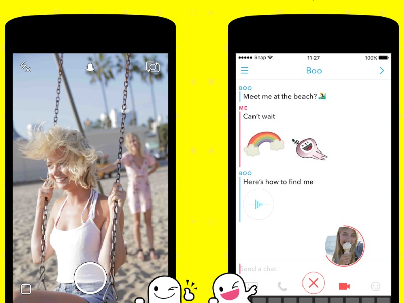 Snapchat Ramps Up Messaging Service With 'Chat 2.0'
