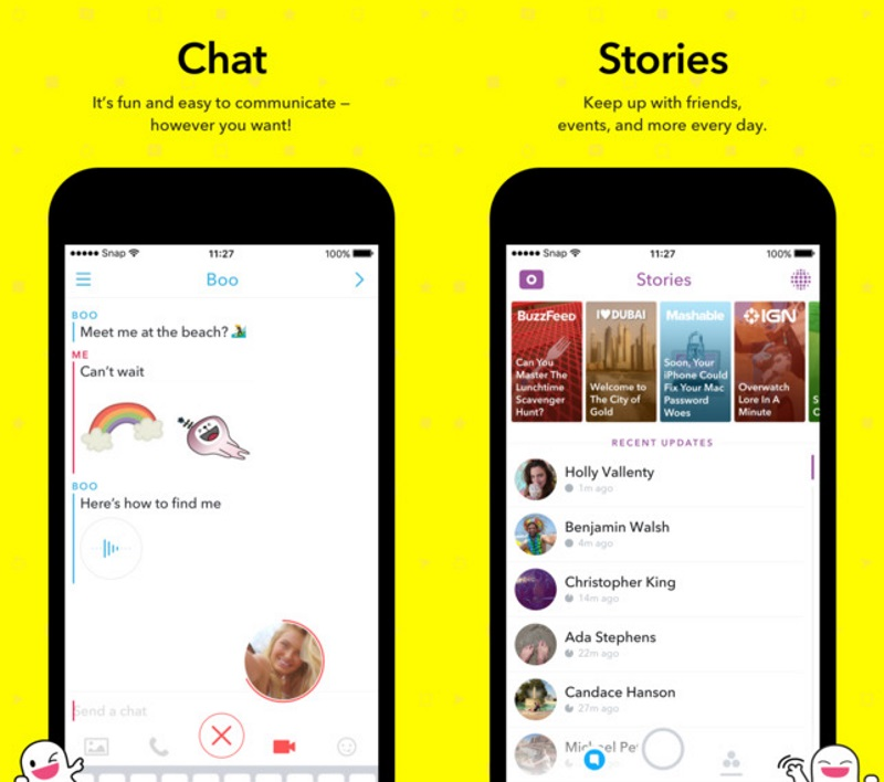 Snapchat Redesigns App to Shift Attention to Media Channels