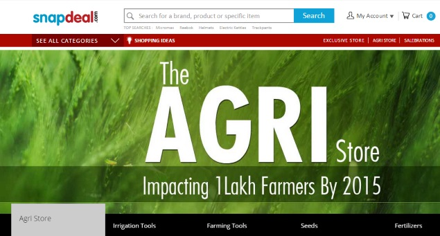 Snapdeal Launches 'The Agri Store' With Products for Farmers