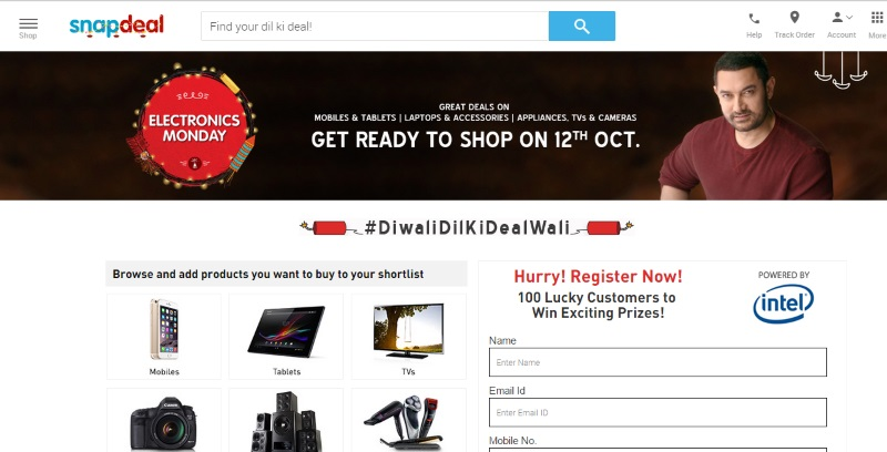 Snapdeal Electronics Monday and Amazon Great Indian Festive Sale: Deals on Yu Phones