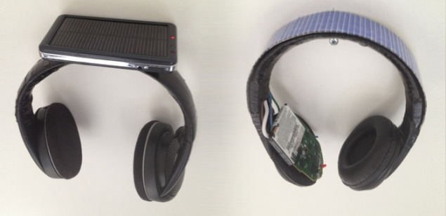 Solar headphones that can charge your mobile devices