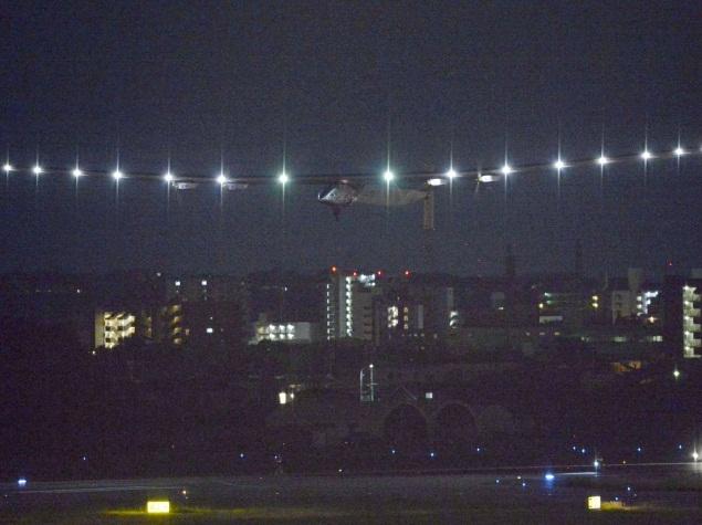 Solar Impulse 2 Sets Solo Flight Record but Faces 'Difficult' Hours