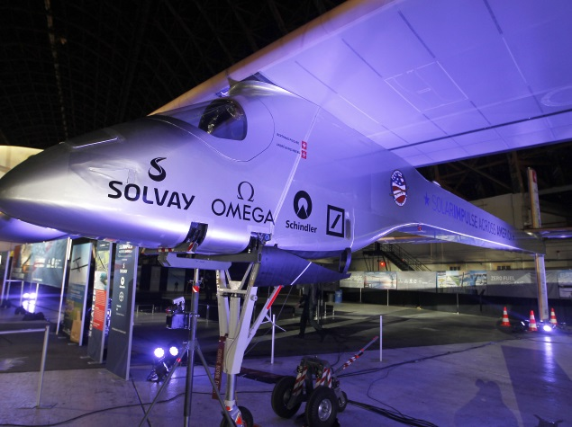 Toughest Leg of Solar Impulse 2's Round-the-World Trip Delayed