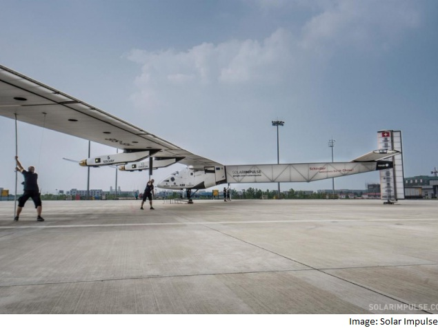 Solar Impulse 2 Reaches Half Way on Japan-US Leg