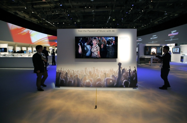 Samsung, Sony, Sharp and LG betting big on 'ultra-high definition' TVs at CES