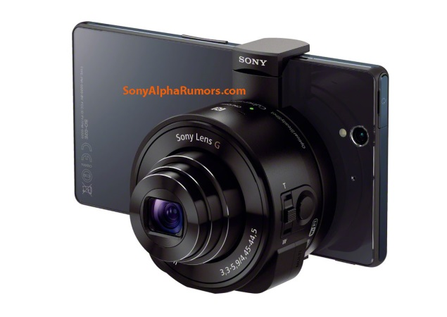 Sony's 'lens cameras' that can be attached to iPhone and Android smartphones spotted in the wild