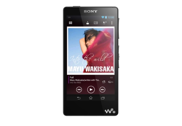 Sony Walkman F886 portable music player with Android 4.1 launched