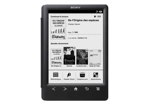 Sony Reader PRS-T3 e-reader launched