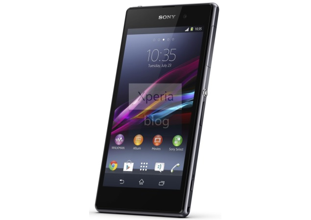 Sony Xperia Z1 press renders leak again ahead of expected IFA launch