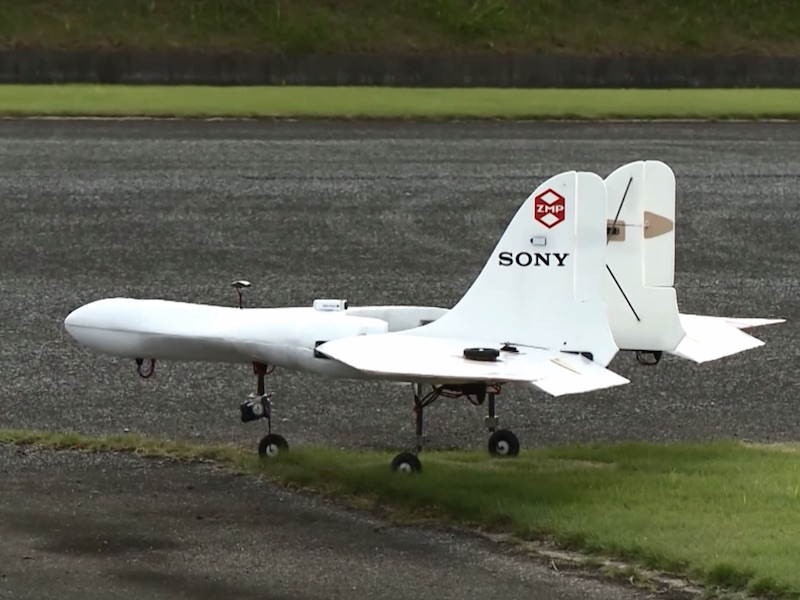 Watch: Sony's Prototype Drone That Can Travel at 170 Kilometres per Hour