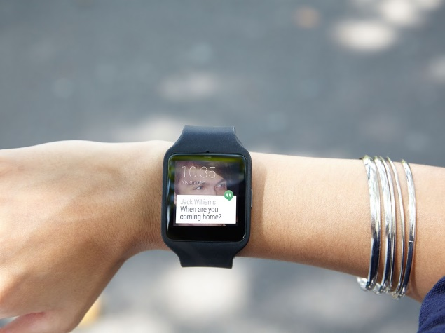 Sony SmartWatch 3 Android Wear Smartwatch Goes on Sale