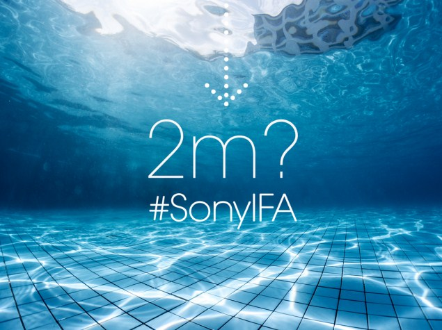 Sony Teases Immersion up to 2 Metres for Upcoming Devices at IFA 2014