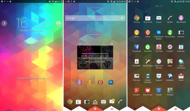 Sony brings xperia themes to android 43 or higher smartphones and sony brings xperia themes to android 43 or higher smartphones and tablets voltagebd Images