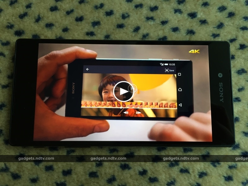 Sony Xperia Z5 Premium Is the World's First Phone With a 4K Display