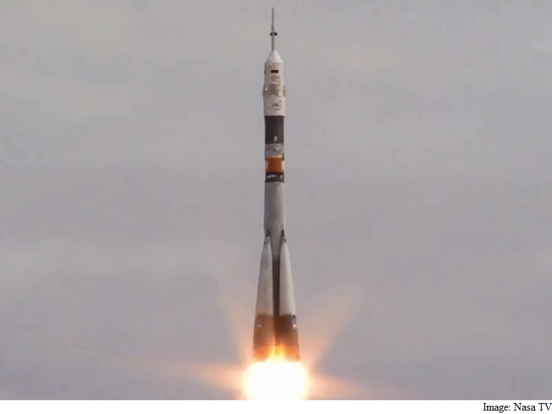 Soyuz Rocket With Three Astronauts Launches Towards ISS