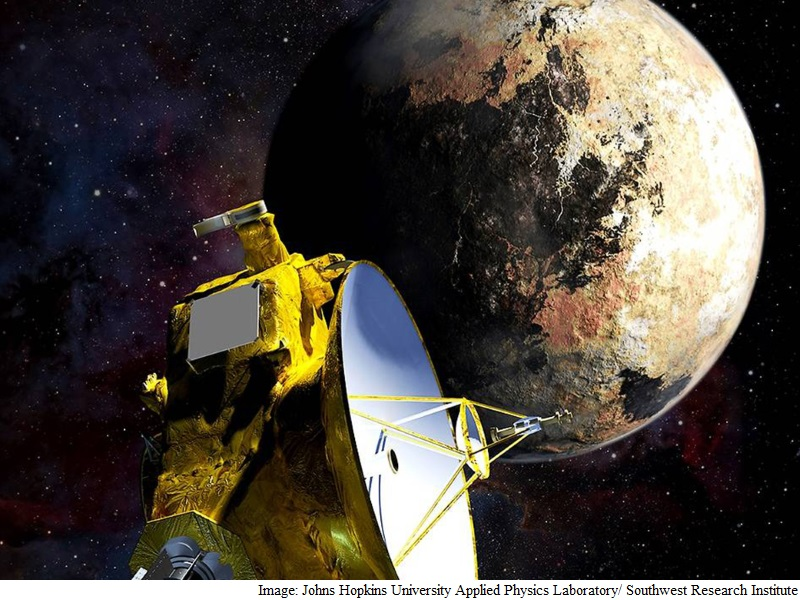 Nasa Releases Visualisation of Pluto's Space Environment