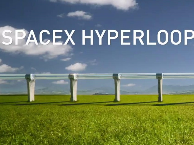 SpaceX to Build Test Track for Futuristic Hyperloop High-Speed Transport