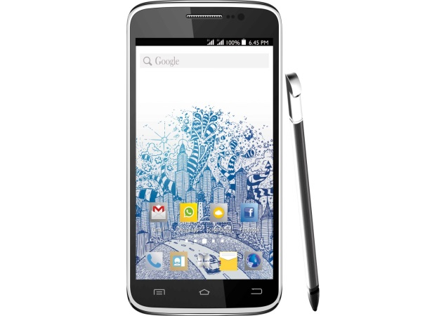 Spice Pinnacle Stylus with 5.5-inch HD display launched at Rs. 15,999