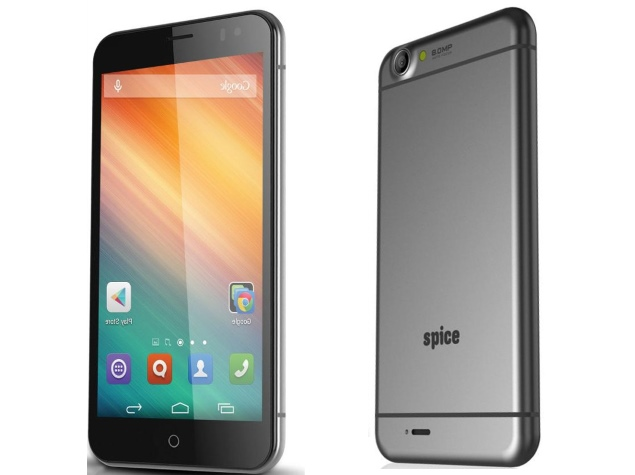 Spice Mi-549 With iPhone 6 Plus-Like Design Listed Online at Rs. 7,999