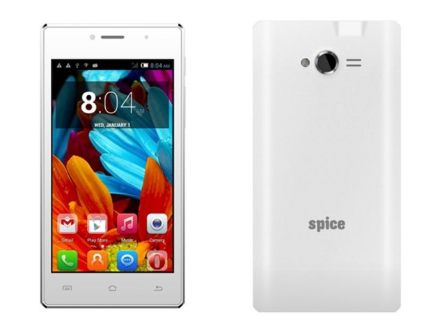Spice Smart Flo Crystal With 4.5-Inch Display Available Online at Rs. 4,999