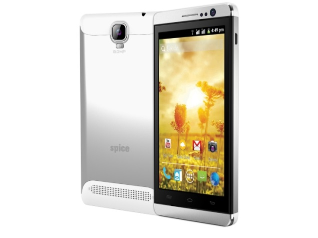 Spice Smart Flo Mettle Icon with 5-inch display, 3G support launched at Rs. 6,999