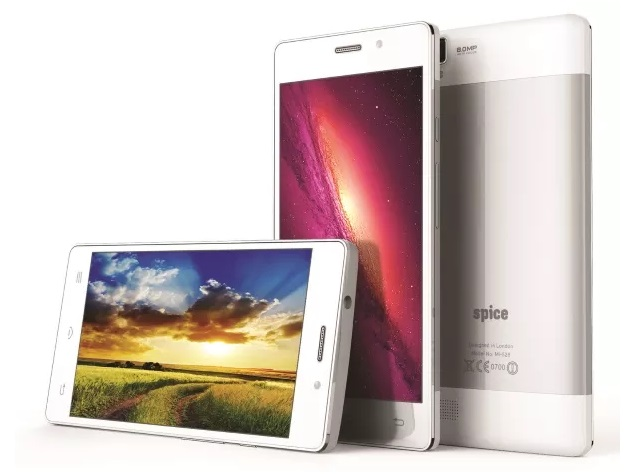 Spice Stellar 520 and Stellar 526 With Android 4.4 KitKat Launched