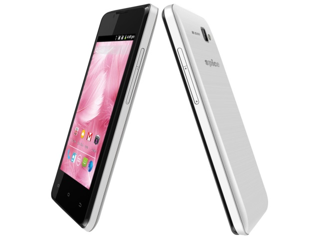 Spice Stellar Glide with 4-inch OGS display, dual-SIM support launched at Rs. 5,199