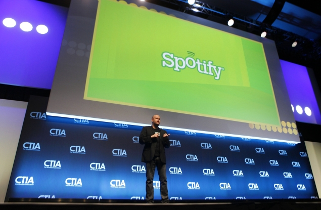 Spotify gains more active users