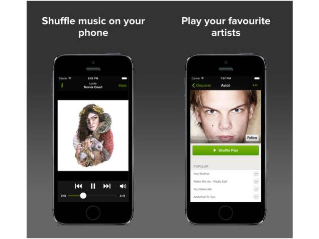 Spotify brings free shuffle-based streaming to iOS, makes good on promise