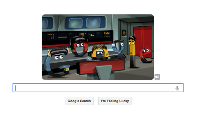Star Trek: The Original Series 46th Anniversary marked by Google doodle