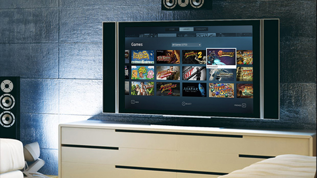 Steam brings its games to the living room with Big Picture
