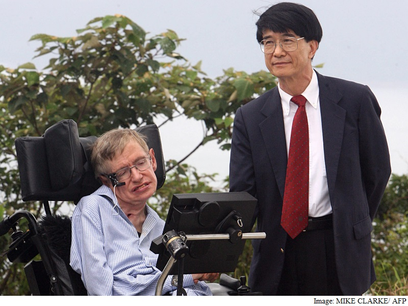 Stephen Hawking's Brief History on Chinese Social Media