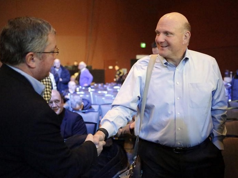 Former Microsoft CEO Ballmer Does About-Face on Linux Technology