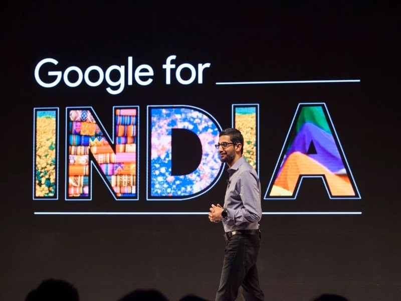 Google CEO Sundar Pichai Outlines Vision to Brings Millions of Indians Online