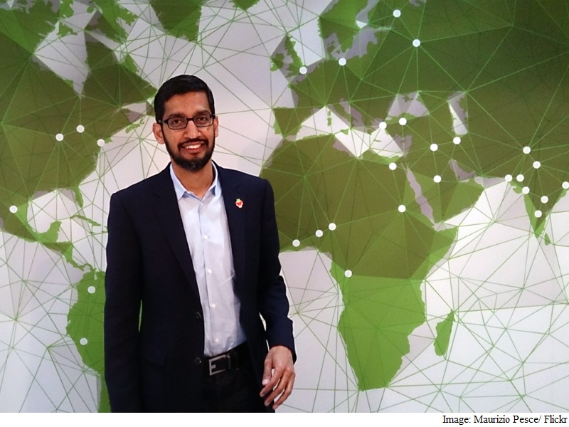 Sundar Pichai to Host 'Google for India' New Delhi Event Next Week