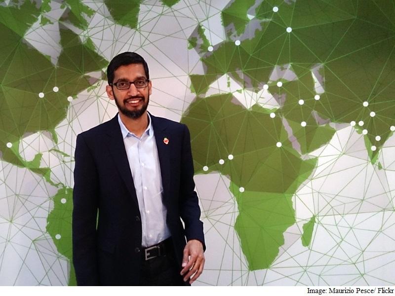 Google's Pichai, Flipkart's Bansals on Time's 100 Most Influential List